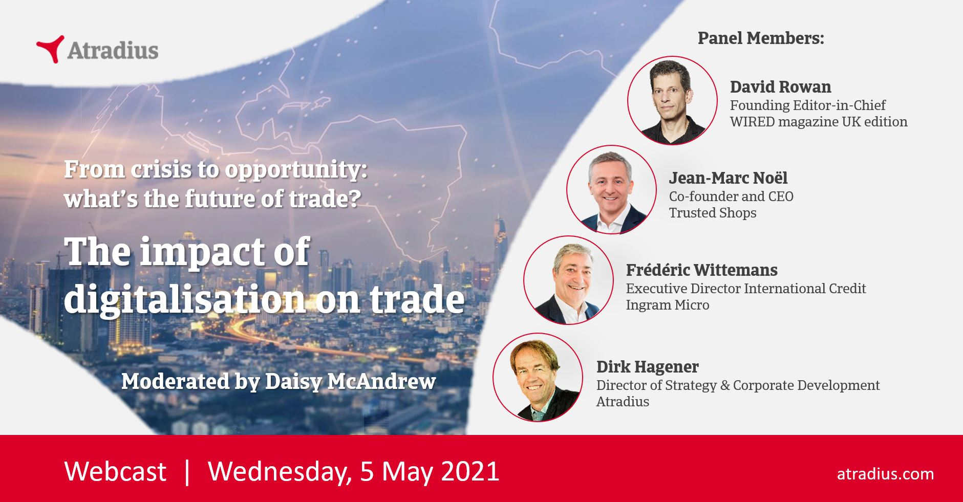Webinar Atradius Event 3: The impact of digitalisation on trade